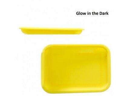 Žlutá podložka na balení Rolling tray