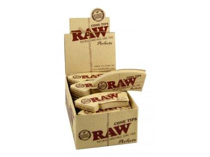 Papírové filtry RAW CONE SHAPED TIPS 32 ks