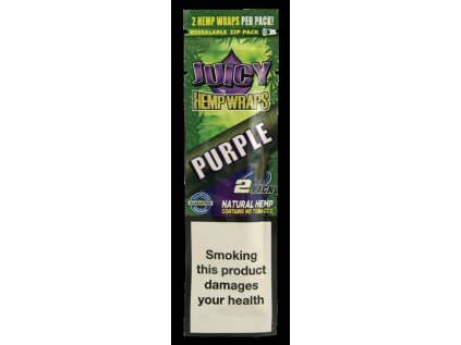 Konopné blunty JUICY HEMP BLUNTS PURPLE