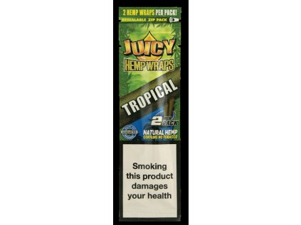 Konopné blunty JUICY HEMP BLUNTS TROPICAL