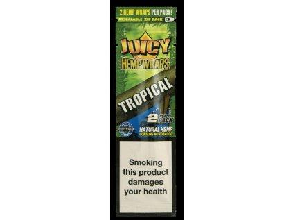 Konopné blunty JUICY HEMP BLUNTS TROPICAL