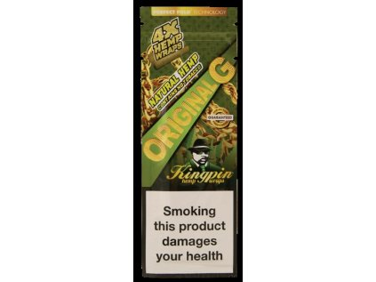 Konopné blunty KINGPIN HEMP BLUNTS ORIGINAL
