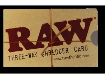 Drticí karta RAW SHREDDER CARD