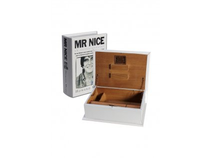 Krabička na jointy Kavatza' 'Mr. Nice' Book Joint Box
