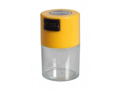 Vzduchotěsná žlutá krabička Tightpac' 'Vitavac' Vacuum-Container 5 g yellow