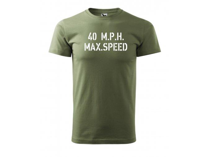 Triko Max Speed - pánské