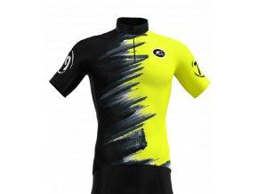 rosti dres seppia dlouhy zip 2020 043 yellowfluo black