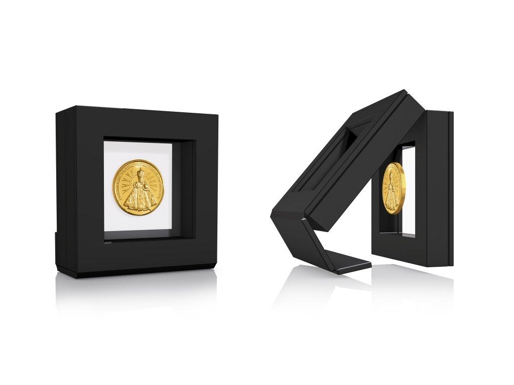 Luxusní krabička na pamětní medaili