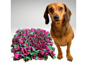 cmuchaci koberecek zeleno ruzovy 0