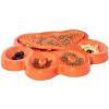 protihltaci miska oranzova s lizaci podlozkou 2