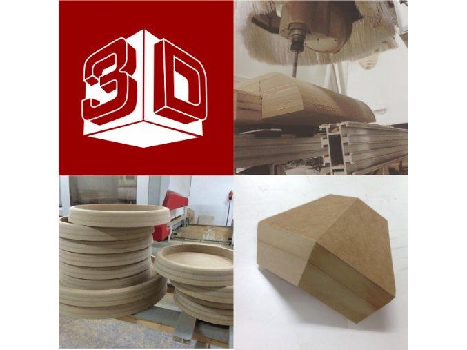 3D frézování