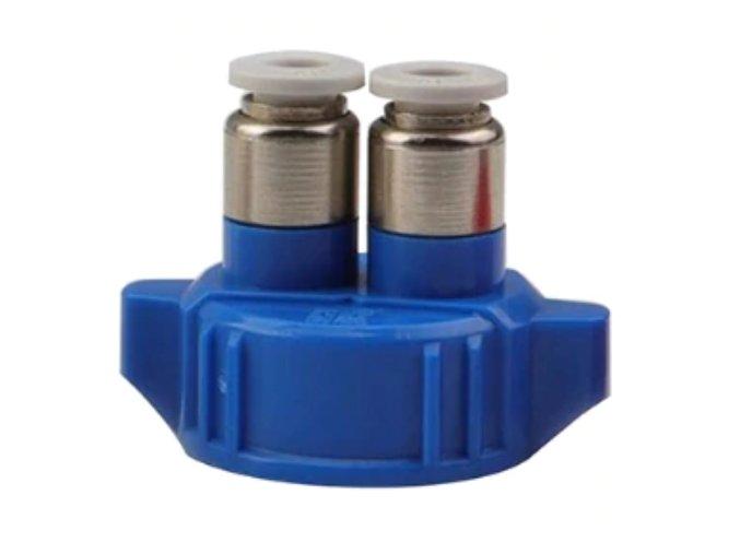 Víčko na PET láhev modré