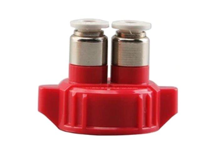 Víčko na PET láhev červené