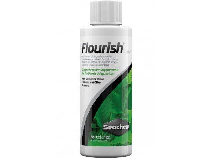 Seachem Flourish 50 ml  + DÁREK ZDARMA -  Stříkačka 5 ml pro přesné dávkování
