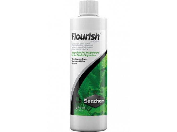 Seachem Flourish 250 ml  + DÁREK ZDARMA -  Stříkačka 5 ml pro přesné dávkování