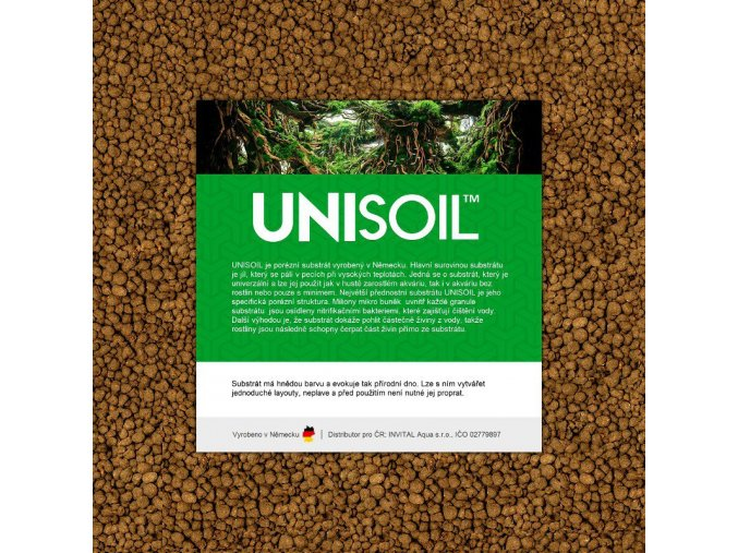 UNISOIL akvarijní substrát 5 l