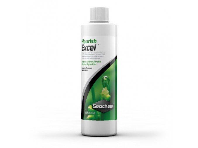 Seachem Flourish Excel 50 ml  + DÁREK ZDARMA -  Stříkačka 5 ml pro přesné dávkování