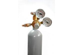 CO2 set W21.8. s manometrem + láhev