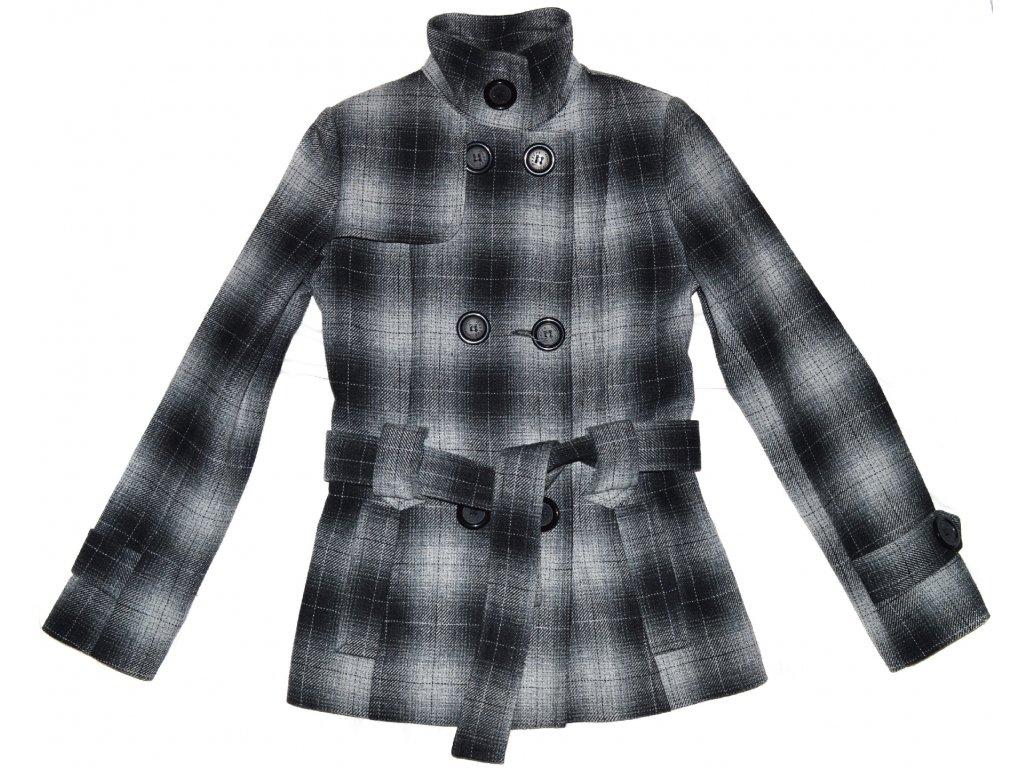 Vlněný dámský kabát s páskem Monica XS - Coat-Master.cz 4ee7ccc39c