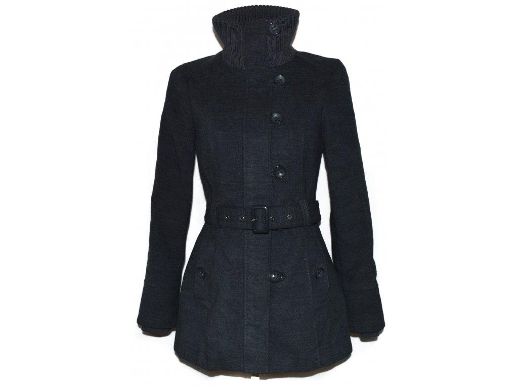 Dámský šedý kabát s páskem CLOCKHOUSE M - Coat-Master.cz 261434db7c