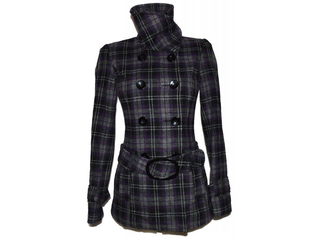 Vlněný dámský kabát s páskem CLOCKHOUSE 8 34 - Coat-Master.cz a6c4870f2f