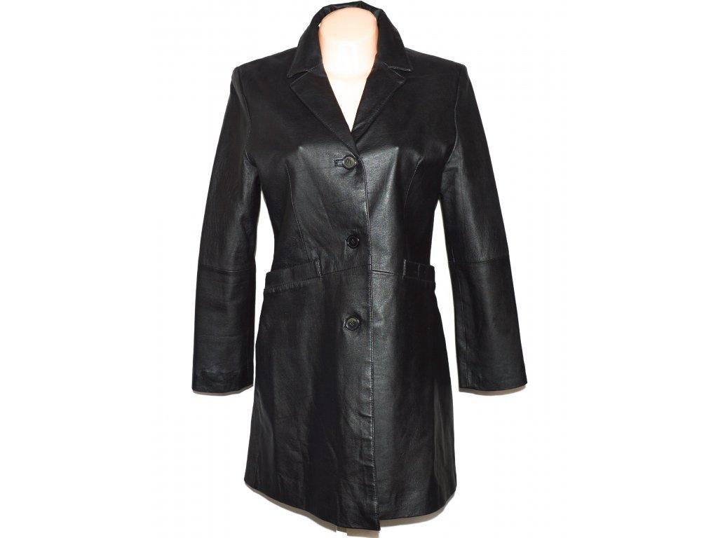 KOŽENÝ dámský černý kabát S, M, L, XL, XXL