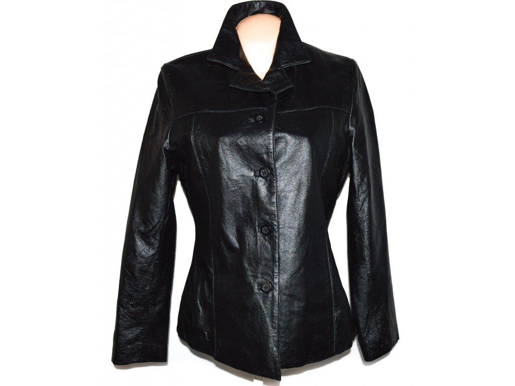 KOŽENÁ dámská černá měkká bunda Paul Berman L