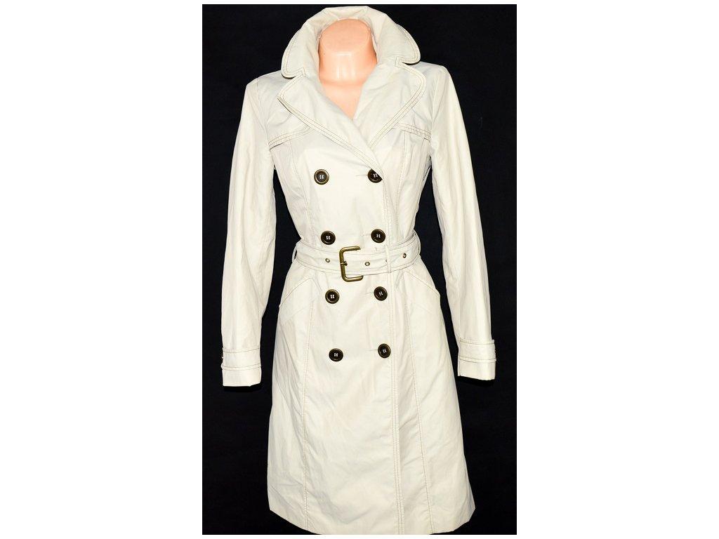Bavlněný dámský béžový kabát s páskem WALLIS 10/38