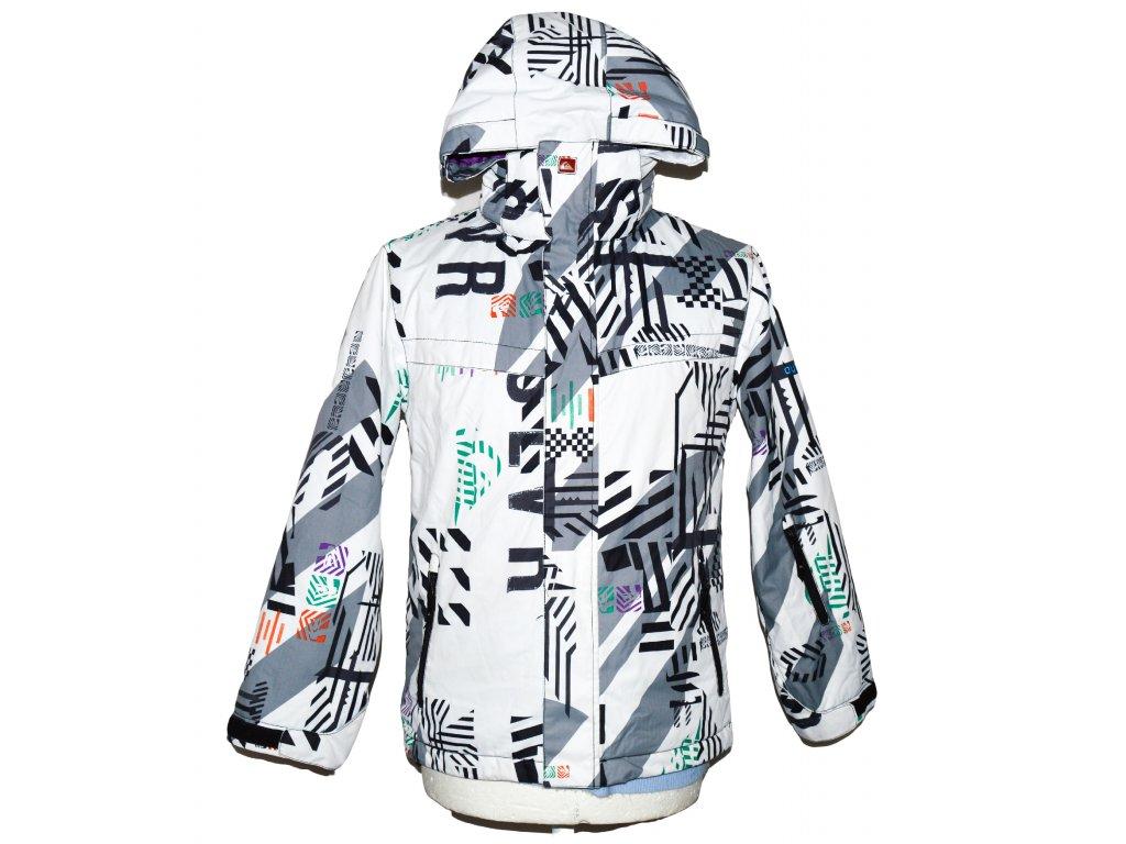 Chlapecká lyžařská bunda s kapucí QUIKSILVER