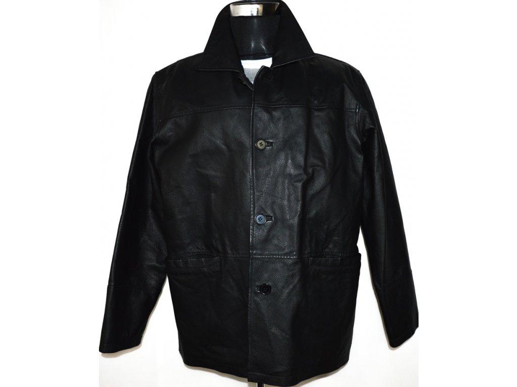 KOŽENÁ pánská černá bunda MARTINEK vel. XLi