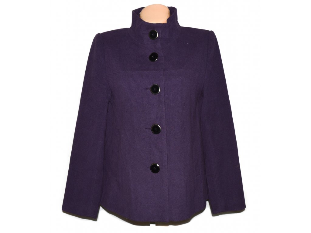Dámský fialový kabát PAPAYA XL