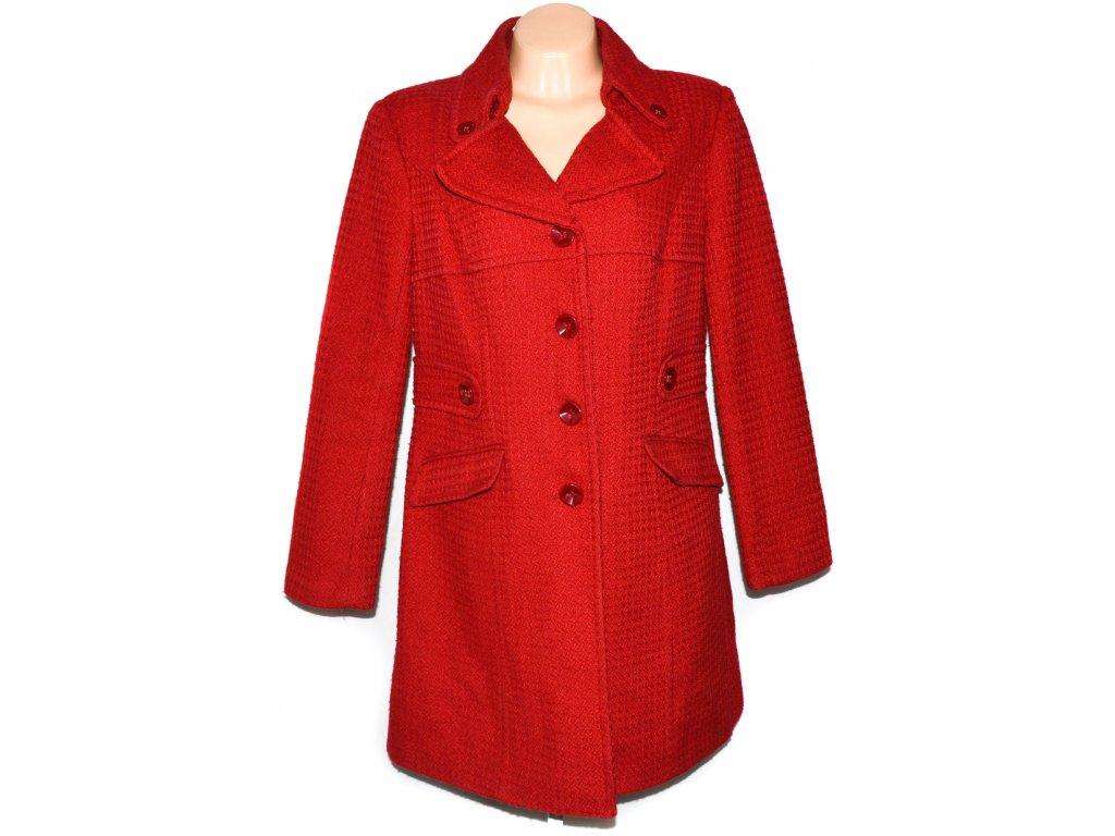 Dámský červený kabát XL