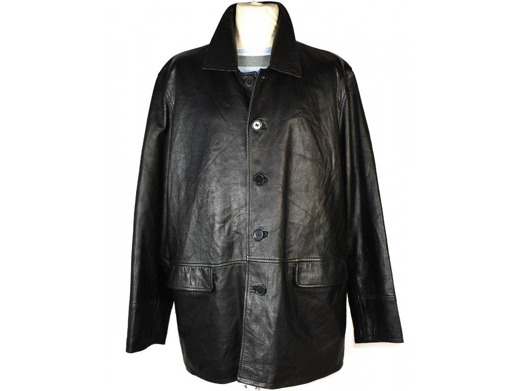 KOŽENÁ pánská černá měkká bunda Firenze XXL