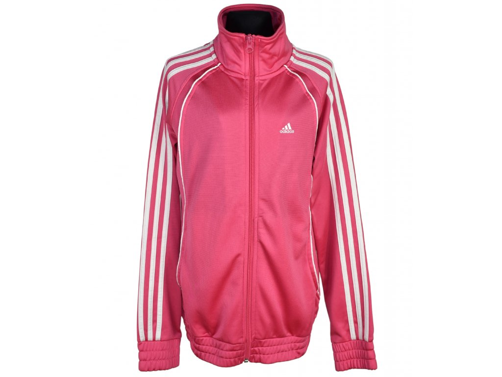 Dívčí růžová mikina Adidas 14 - 15 let*