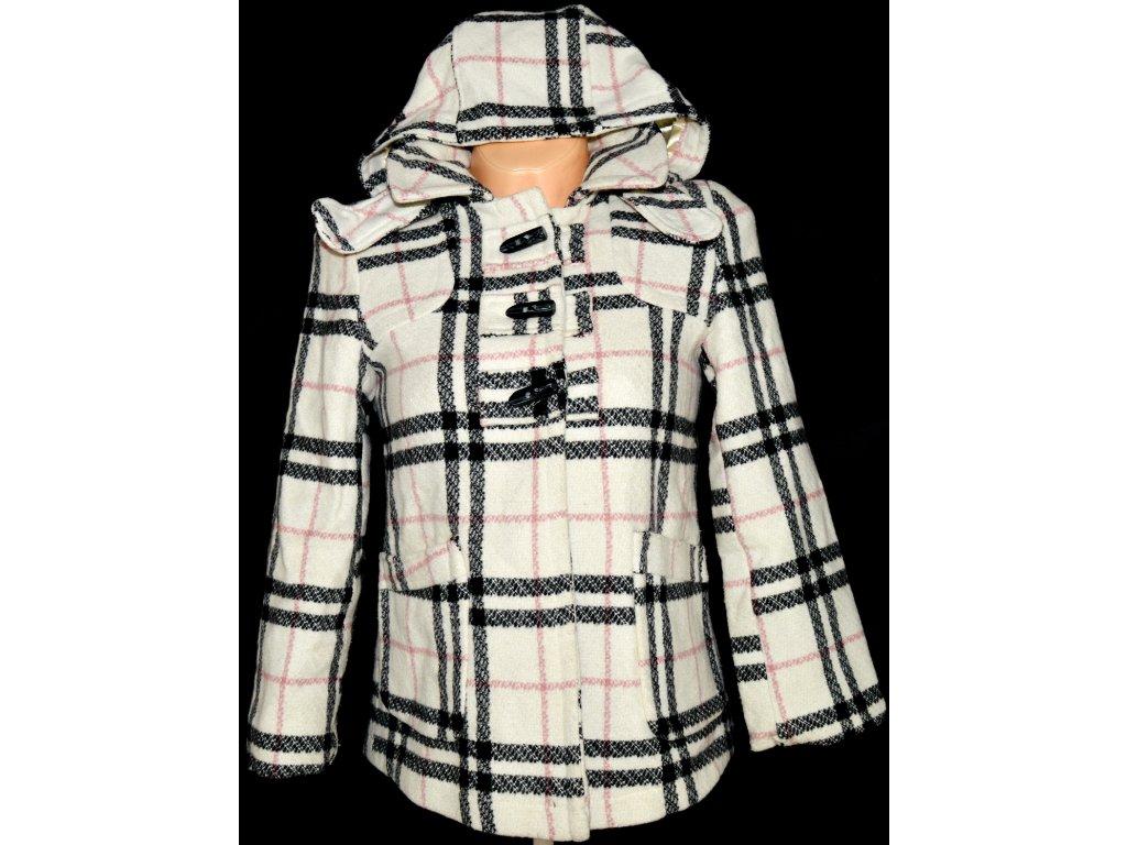 Vlněný dámský kabát s kapucí Pineapple XS