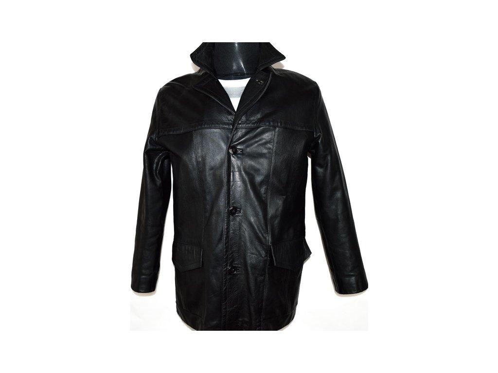 KOŽENÁ pánská černá bunda HARDIX vel. S