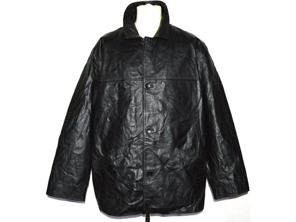 KOŽENÁ pánská černá bunda TOM ENGLISH XXL