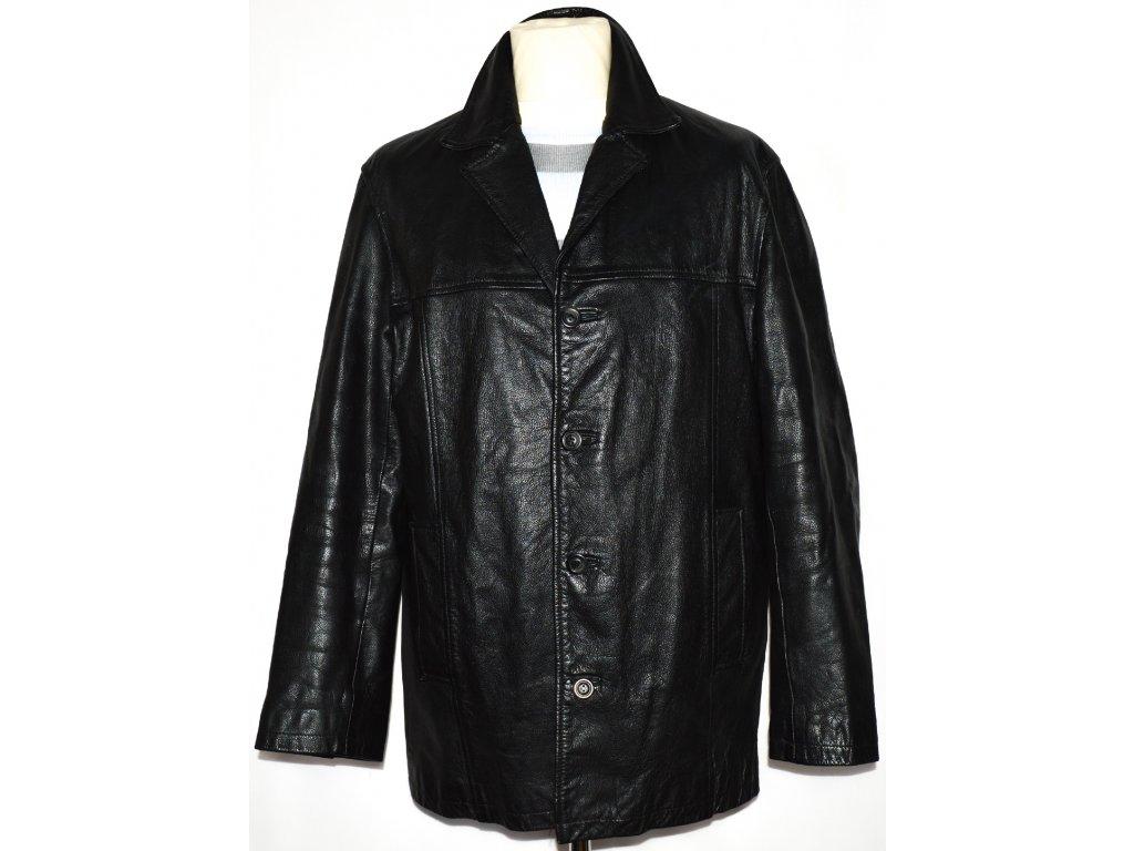 KOŽENÁ pánská černá zateplená bunda MATINEE 7