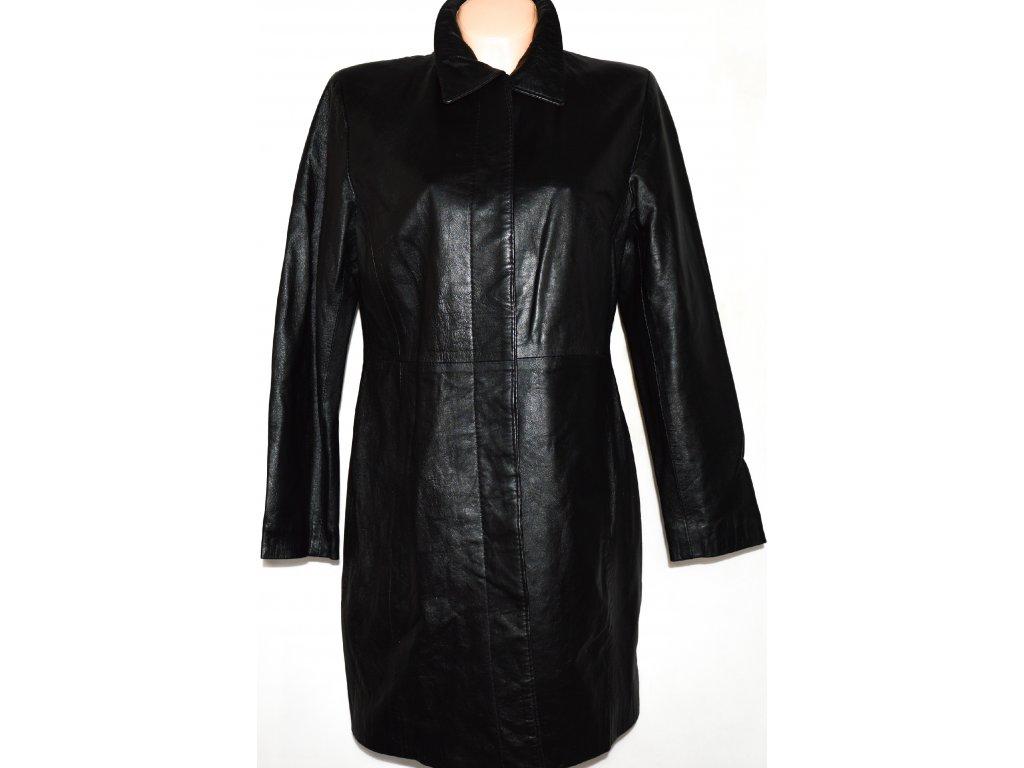 KOŽENÝ dámský černý kabát Golden Leather vel. L