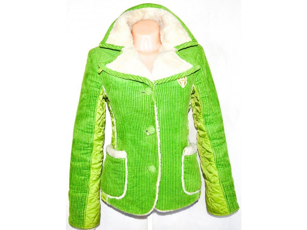 Dámské sytě zelený kabátek / sako S/M