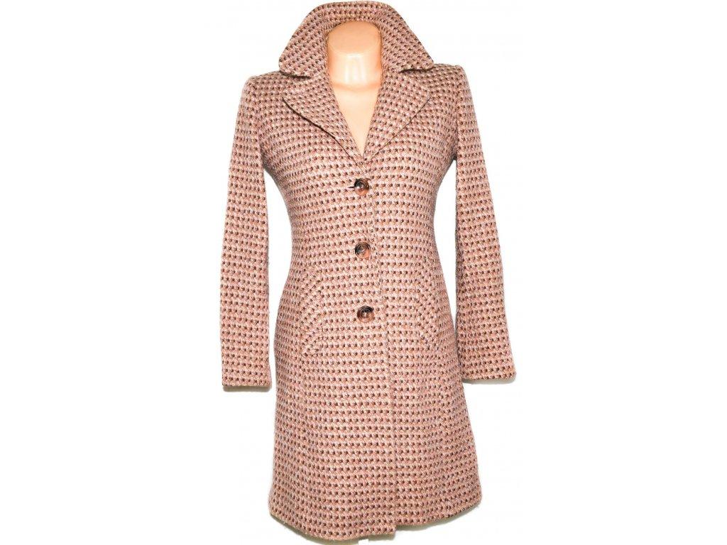 Vlněný dámský růžový kabát NEXT 36 - Coat-Master.cz 1d63e2ef4d4