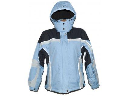 Lyžařská dámská modrá bunda s kapucí Alpine Pro L