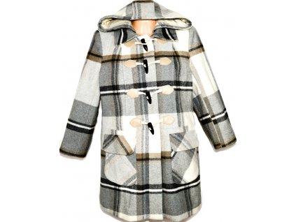 Vlněný dámský kabát na vidlice DEBENHAMS XL