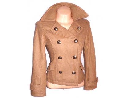 Dámský béžový kabátek S