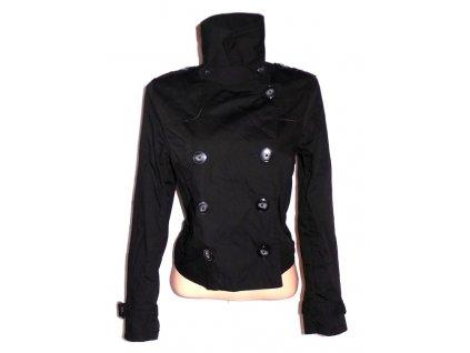 Bavlněný dámský černý kabátek H&M XL
