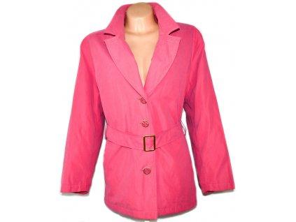 EXTRA VELKÝ dámský růžový kabát MarksSpencer XXXXL