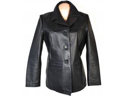 KOŽENÉ dámské černé měkké sako CERO L, XXL