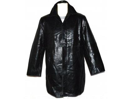 KOŽENÝ pánský černý kabát D2 Leather M