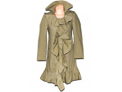Dámský kabát s volánky Punky fish M