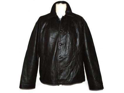 KOŽENÁ pánská hnědá bunda Fosters XL